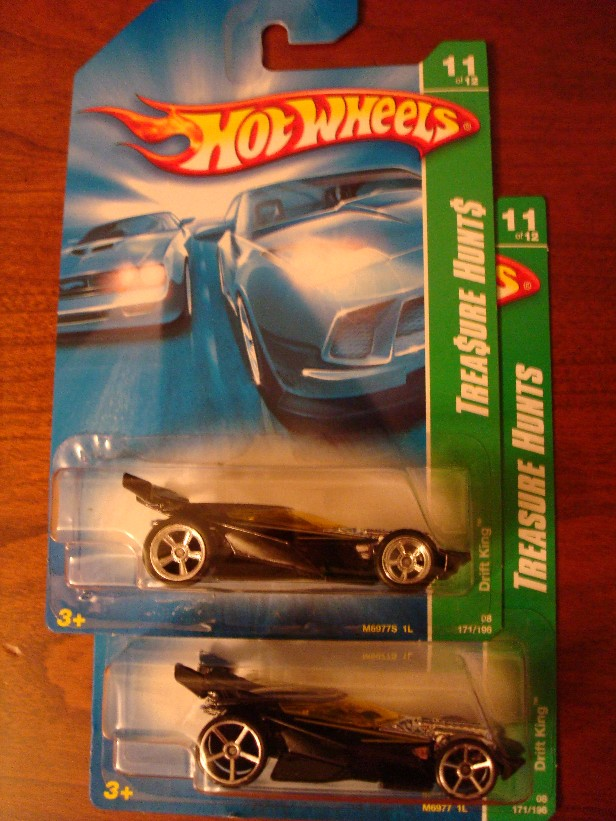 Hot Wheels Treasure Hunt