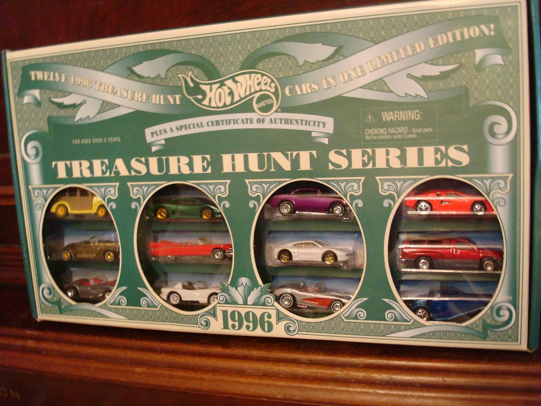 Hot Wheels JC Penny 1996 Treasure Hunt Set – Complete Series