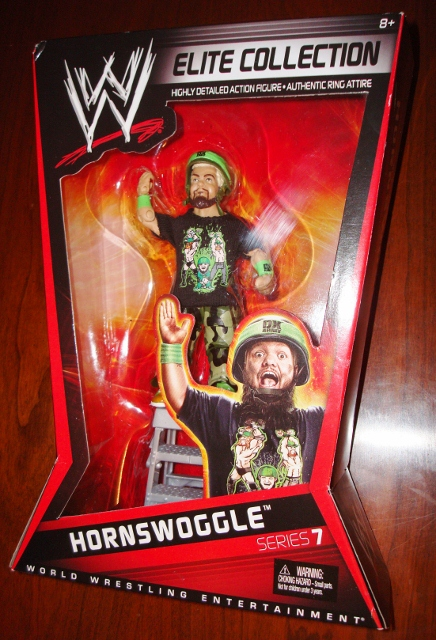 Hornswoggle WWE Wrestling Figure Series 7 Elite Collection