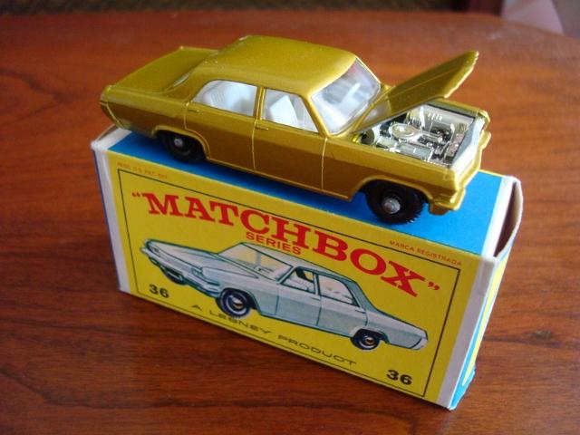 Matchbox Lesney Opel Diplomat