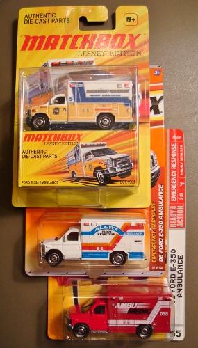 Matchbox Emergency Vehicles