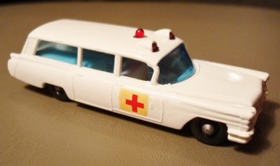 Matchbox Cadillac Ambulance Matchbox Lesney S&s Cadillac