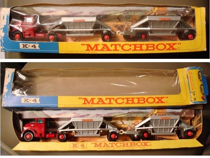 Vintage Matchbox King Size