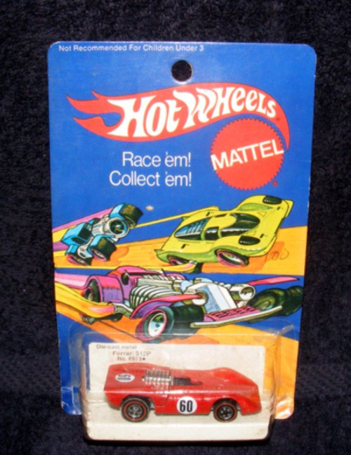 1973 Enamel Hot Wheels Redline Ferrari 312P
