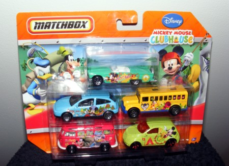 Matchbox Mickey Mouse Club