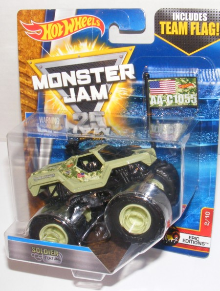 Hot Wheels Monster Jam Soldier of Fortune